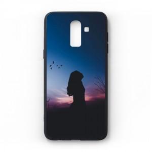 Ốp lưng kính in hình cho Samsung Galaxy J8 2018 hình ngày 8 tháng 3 (mẫu 54) - Hàng chính hãng