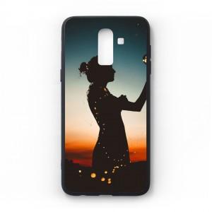 Ốp lưng kính in hình cho Samsung Galaxy J8 2018 hình ngày 8 tháng 3 (mẫu 55) - Hàng chính hãng