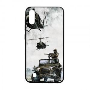 Ốp lưng kính in hình cho Samsung Galaxy M10 hình ngày 30 tháng 4 (mẫu 11) - Hàng chính hãng
