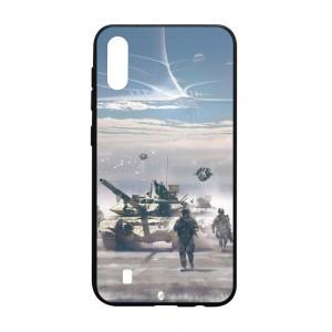 Ốp lưng kính in hình cho Samsung Galaxy M10 hình ngày 30 tháng 4 (mẫu 15) - Hàng chính hãng