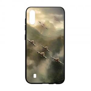 Ốp lưng kính in hình cho Samsung Galaxy M10 hình ngày 30 tháng 4 (mẫu 21) - Hàng chính hãng