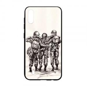 Ốp lưng kính in hình cho Samsung Galaxy M10 hình ngày 30 tháng 4 (mẫu 27) - Hàng chính hãng