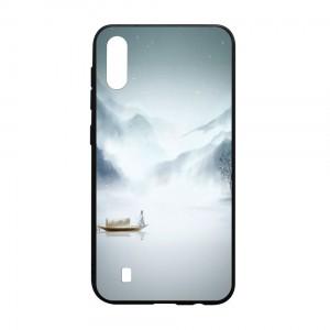 Ốp lưng kính in hình cho Samsung Galaxy M10 hình Phong Cảnh (mẫu 40) - Hàng chính hãng