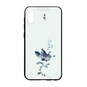 Ốp lưng kính in hình cho Samsung Galaxy M10 hình Phong Cảnh (mẫu 47) - Hàng chính hãng
