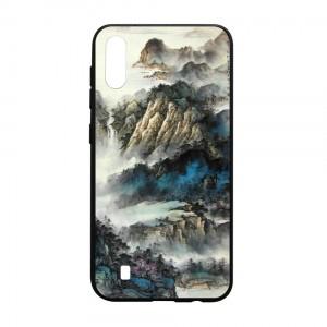 Ốp lưng kính in hình cho Samsung Galaxy M10 hình Phong Cảnh (mẫu 48) - Hàng chính hãng