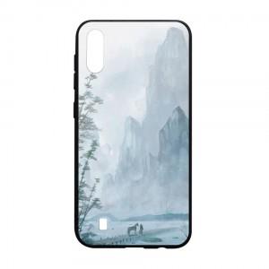 Ốp lưng kính in hình cho Samsung Galaxy M10 hình Phong Cảnh (mẫu 50) - Hàng chính hãng