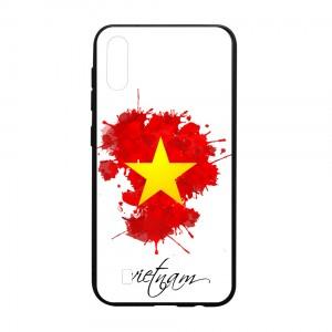 Ốp lưng kính in hình cho Samsung Galaxy M10 hình ngày 30 tháng 4 (mẫu 6) - Hàng chính hãng