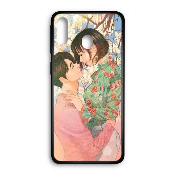 Ốp lưng kính in hình cho Samsung Galaxy M20 Valentine (mẫu 43 - Hàng chính hãng