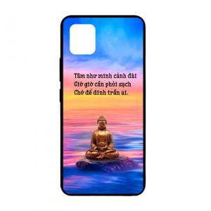 Ốp lưng kính in hình cho Samsung Galaxy Note 10 Lite, A81, M60S hình Phật (mẫu 11) - Hàng chính hãng