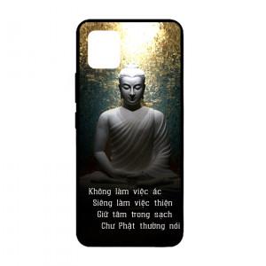 Ốp lưng kính in hình cho Samsung Galaxy Note 10 Lite, A81, M60S hình Phật (mẫu 6) - Hàng chính hãng
