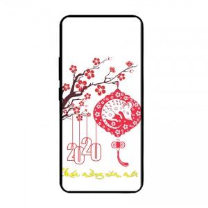 Ốp lưng kính in hình cho Samsung Galaxy A81, Galaxy M60s hình tết mùa xuân (mẫu 47) - Hàng chính hãng