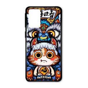 Ốp lưng kính in hình cho Samsung Note 20 in hình thần tài may mắn (mẫu 53) - Hàng chính hãng