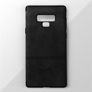 Ốp lưng Samsung Galaxy Note 9 vân vải bố Ivan Klot (Đen)