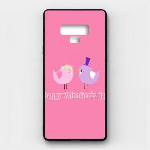 Ốp lưng kính in hình cho Samsung Galaxy Note 9 Valentine (mẫu 14) - Hàng chính hãng