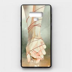 Ốp lưng kính in hình cho Samsung Galaxy Note 9 Valentine (mẫu 15) - Hàng chính hãng