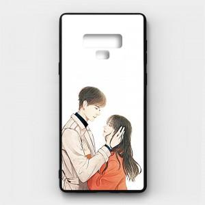 Ốp lưng kính in hình cho Samsung Galaxy Note 9 Valentine (mẫu 16) - Hàng chính hãng