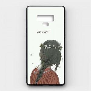 Ốp lưng kính in hình cho Samsung Galaxy Note 9 Valentine (mẫu 17) - Hàng chính hãng