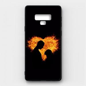 Ốp lưng kính in hình cho Samsung Galaxy Note 9 Valentine (mẫu 18) - Hàng chính hãng