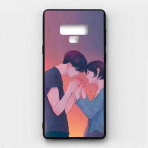 Ốp lưng kính in hình cho Samsung Galaxy Note 9 Valentine (mẫu 23) - Hàng chính hãng
