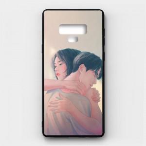 Ốp lưng kính in hình cho Samsung Galaxy Note 9 Valentine (mẫu 24) - Hàng chính hãng