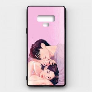 Ốp lưng kính in hình cho Samsung Galaxy Note 9 Valentine (mẫu 31) - Hàng chính hãng