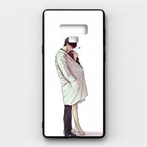 Ốp lưng kính in hình cho Samsung Galaxy Note 9 Valentine (mẫu 32) - Hàng chính hãng