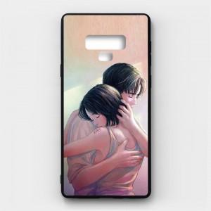 Ốp lưng kính in hình cho Samsung Galaxy Note 9 Valentine (mẫu 34) - Hàng chính hãng