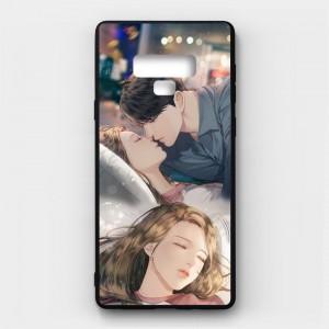 Ốp lưng kính in hình cho Samsung Galaxy Note 9 Valentine (mẫu 38) - Hàng chính hãng