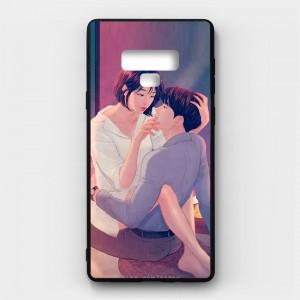 Ốp lưng kính in hình cho Samsung Galaxy Note 9 Valentine (mẫu 41) - Hàng chính hãng