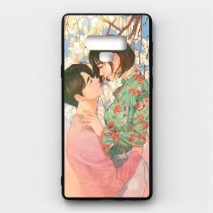 Ốp lưng kính in hình cho Samsung Galaxy Note 9 Valentine (mẫu 43) - Hàng chính hãng