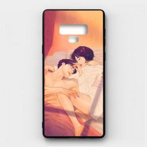 Ốp lưng kính in hình cho Samsung Galaxy Note 9 Valentine (mẫu 47) - Hàng chính hãng