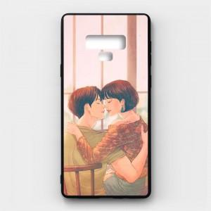 Ốp lưng kính in hình cho Samsung Galaxy Note 9 Valentine (mẫu 48) - Hàng chính hãng