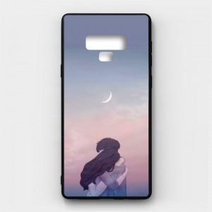Ốp lưng kính in hình cho Samsung Galaxy Note 9 Valentine (mẫu 5) - Hàng chính hãng