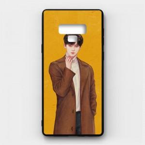Ốp lưng kính in hình cho Samsung Galaxy Note 9 Valentine (mẫu 6) - Hàng chính hãng