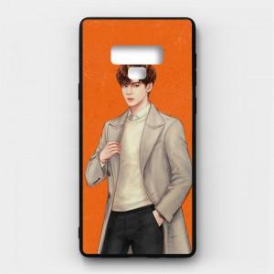 Ốp lưng kính in hình cho Samsung Galaxy Note 9 Valentine (mẫu 7) - Hàng chính hãng