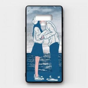 Ốp lưng kính in hình cho Samsung Galaxy Note 9 Valentine (mẫu 8) - Hàng chính hãng