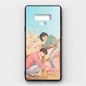 Ốp lưng kính in hình cho Samsung Galaxy Note 9 Valentine (mẫu 9) - Hàng chính hãng