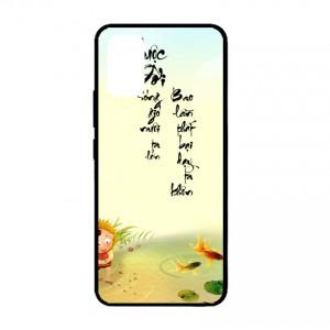 Ốp lưng kính in hình cho Samsung Galaxy S20 plus, Galaxy S11 hình thư pháp (mẫu 34) - Hàng chính hãng