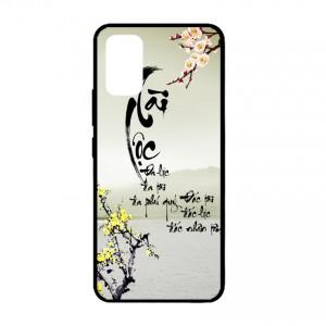 Ốp lưng kính in hình cho Samsung Galaxy S20 plus, Galaxy S11 hình tết mùa xuân (mẫu 1) - Hàng chính hãng