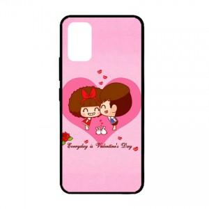 Ốp lưng kính in hình cho Samsung Galaxy S20 Ultra, S11 Plus hình Valentine (mẫu 19) - Hàng chính hãng
