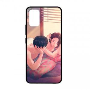 Ốp lưng kính in hình cho Samsung Galaxy S20 Ultra, S11 Plus hình Valentine (mẫu 21) - Hàng chính hãng