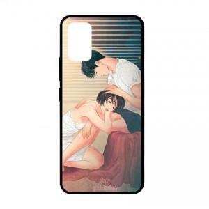 Ốp lưng kính in hình cho Samsung Galaxy S20 Ultra, S11 Plus hình Valentine (mẫu 22) - Hàng chính hãng
