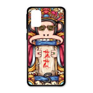 Ốp lưng kính in hình cho Samsung S20,S11E in hình thần tài may mắn (mẫu 39) - Hàng chính hãng