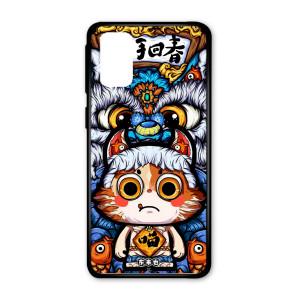 Ốp lưng kính in hình cho Samsung S20,S11E in hình thần tài may mắn (mẫu 53) - Hàng chính hãng