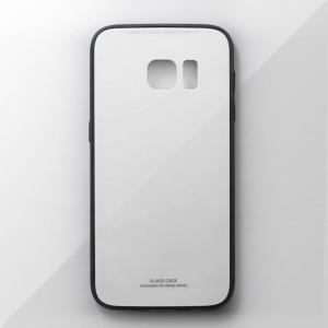 Ốp lưng Samsung Galaxy S7 tráng gương viền dẻo (Trắng)
