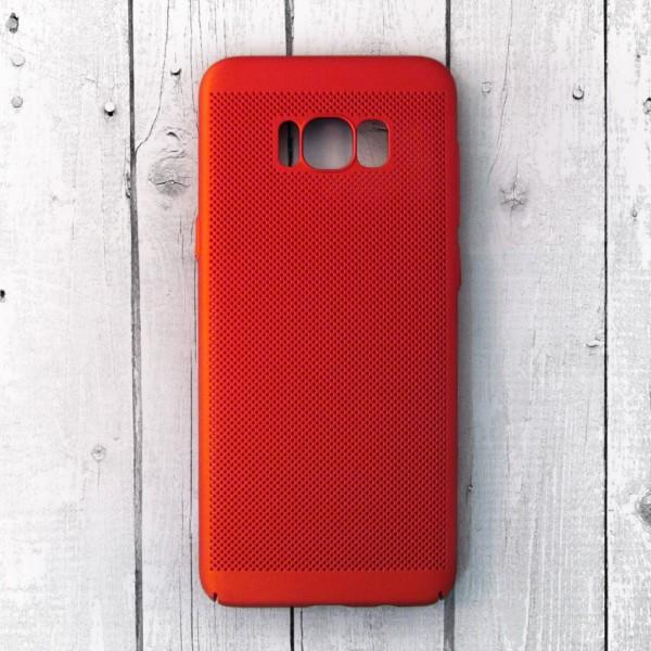 Ốp lưng lưới Samsung Galaxy S8 Plus chống nóng (Đỏ)