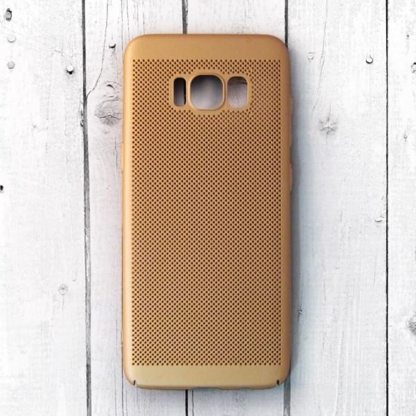 Ốp lưng lưới Samsung Galaxy S8 chống nóng (Vàng)