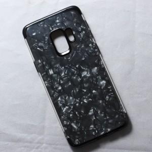 Ốp lưng Samsung Galaxy S9 vân đá (Đen)
