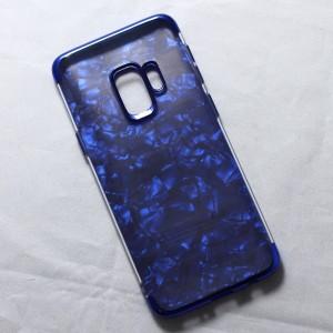 Ốp lưng Samsung Galaxy S9 vân đá (Xanh)