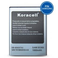 Pin Samsung Galaxy Y - S5360 hiệu Koracell